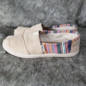 Toms Loafer Shoes Multi-Color Women's Size 5.5
